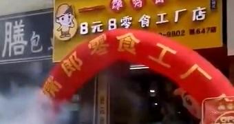 热烈祝贺广西南宁横县西津8块8零食加盟店开业大吉