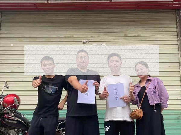 热烈祝贺馋嘴郎广东河源和平县代理签约成功